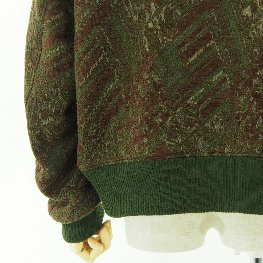 Engineered Garments エンジニアドガーメンツ - SVR Jacket - Chenille - Olive / Brown