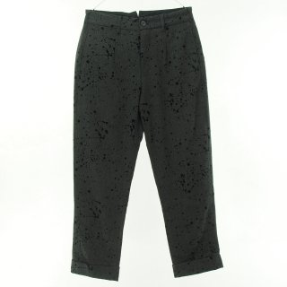 Engineered Garments - Andover Pant - Flocking Splatter - Charcoal