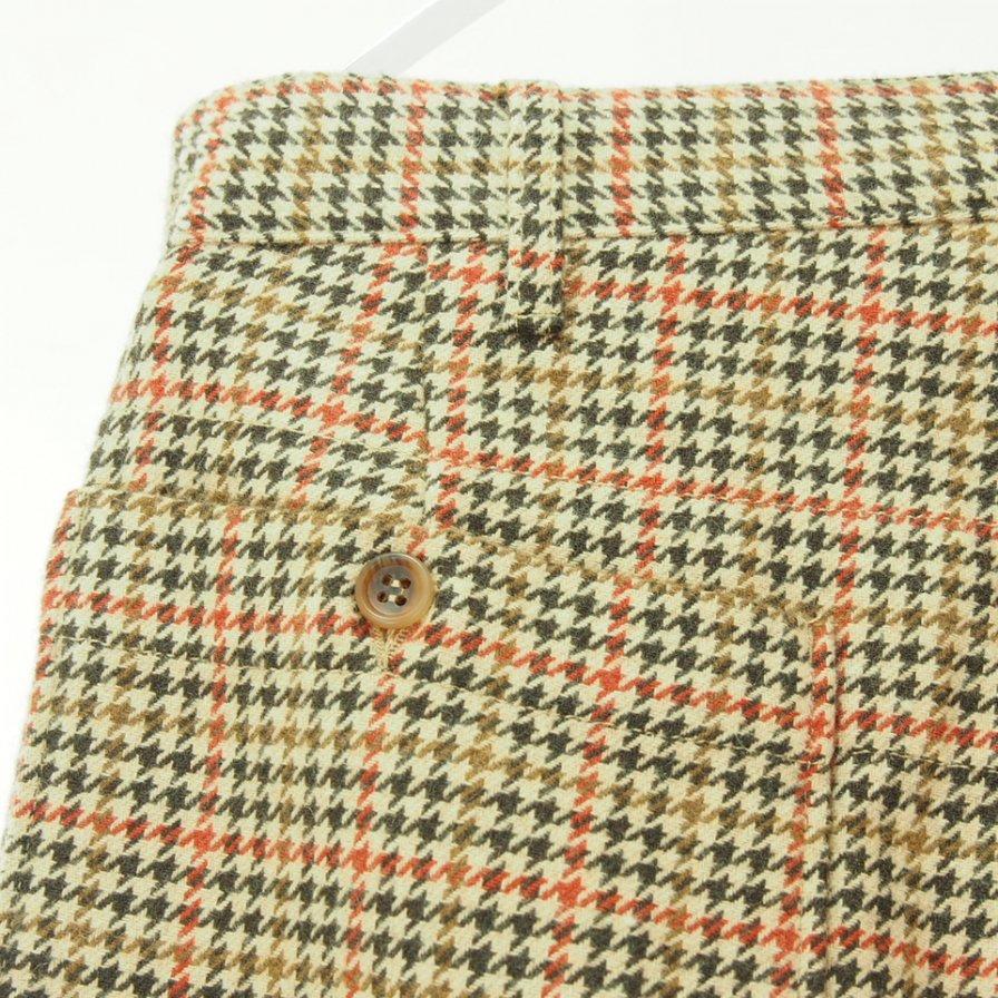 Engineered Garments エンジニアドガーメンツ - Carlyle Pant - Big Gunclub Check - Tan / Orange