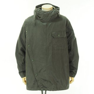 Engineered Garments エンジニアドガーメンツ - Sonor Shirt Jacket - Coated Twill - Dk.Olive