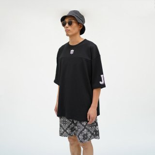 W-BASE×FAKIE STANCE Hockey T-Shirt Black
