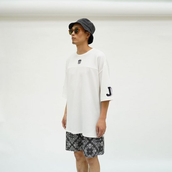 W-BASE×FAKIE STANCE Tee White