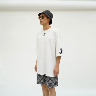 W-BASE×FAKIE STANCE Hockey T-Shirt White