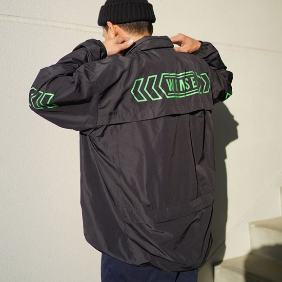 <img class='new_mark_img1' src='https://img.shop-pro.jp/img/new/icons43.gif' style='border:none;display:inline;margin:0px;padding:0px;width:auto;' />W-BASE×FAKIE STANCE ANORAK Dark Navy