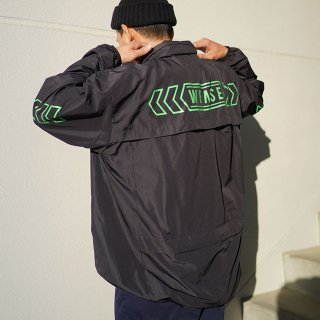 W-BASE×FAKIE STANCE ANORAK Dark Navy