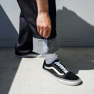 <img class='new_mark_img1' src='https://img.shop-pro.jp/img/new/icons1.gif' style='border:none;display:inline;margin:0px;padding:0px;width:auto;' />RODI×FAKIE STANCE-Tapered Denim Pants DARK NAVY