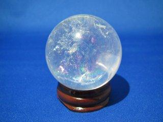 ヒマラヤ 虹入り水晶玉