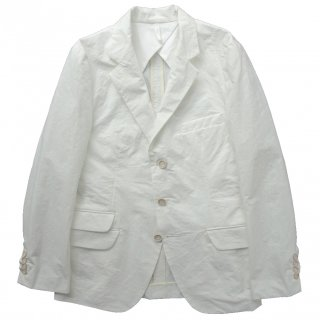 COTTON / NYLON DOWNPROOF CLOTH 3B JACKET OFF WHITE