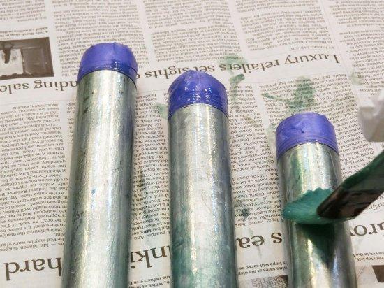 亜鉛メッキの塗り方1