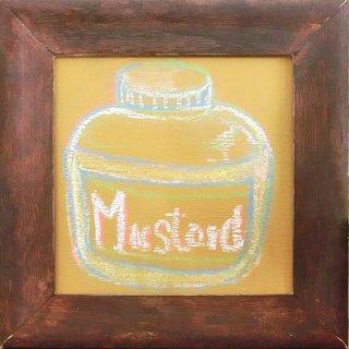 おしゃれな色の黒板塗料 TAKARAチョークボードペイント Mustard