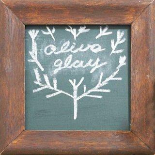 おしゃれな色の黒板塗料 TAKARAチョークボードペイント Olive Gray