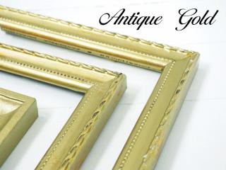 アンティークな色味に落ち着いた輝きの「Antique Gold/アンティークゴールド」