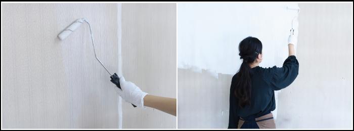 壁紙の塗り方2