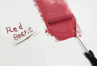 石膏ボードの壁に黒板塗料を使った塗り方