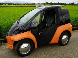 トヨタ EVコムスをセレンゲッティオレンジで塗装!