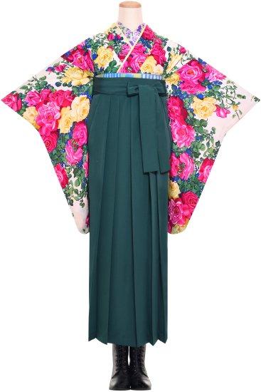 卒業式袴 アンティーク着物レンタル ☆ 【白薔薇】