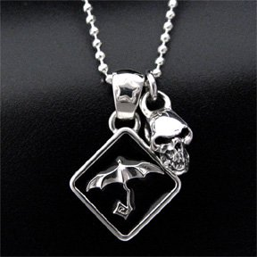 【TSC×UMBRELLA】 Umbrella (in Black) & TSC crying skull - pendant