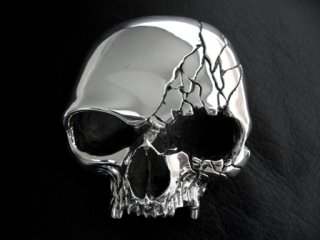 【TRANSCORE】 Cracking Skull Buckle