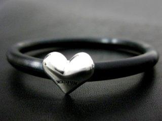 【TRANSCORE】 Buttocks Heart Rubber Bracelet