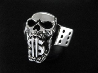 【TCR-034】Skull/$&Dice Ring