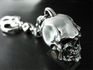 【TRANSCORE】 Cracked Skull Keyholder
