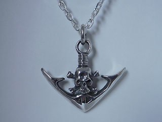 【TRANSCORE】Skull Anchor Pendant top