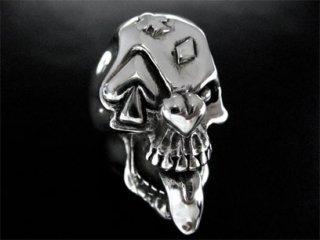 【TRANSCORE】4 Aces Skull Ring
