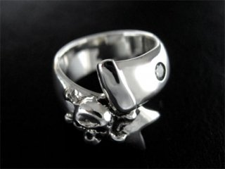 【TCR-021】Skull Bandage Ring