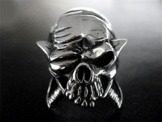 【TCR-020】【TRANSCORE】 Pirate Skull Ring