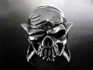 【TRANSCORE】 Pirate Skull Ring