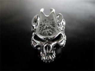 【TRANSCORE】 Flame Skull Ring
