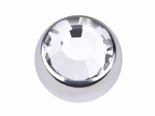 【SJB-F】Screw on Jewelled Balls Faceted Stone