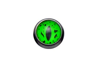【KRF-14G-5b】Blackline Reptile Eye Fluoroballs (5mm ball)