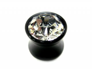 【AJP】Acrylic Single Jewelled Plug