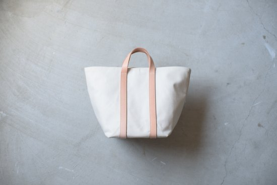 Leather handle new tote