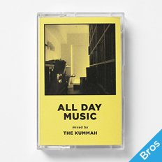 "【BROS限定】DL Mix ""ALL DAY MUSIC"" Mixed by THE KUMMAH"