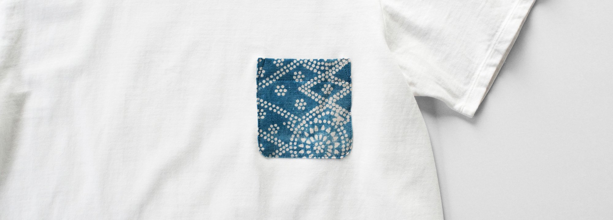 Organic Cotton Antique Pocket