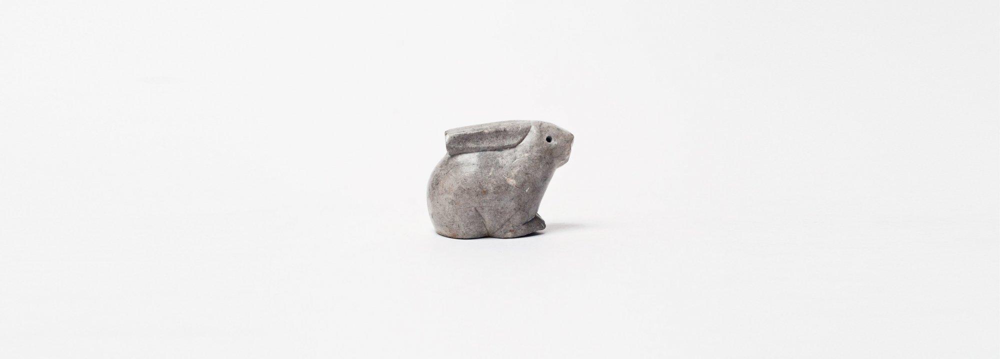Vintage Object : Stone Rabbit
