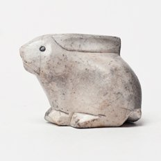 Vintage Object : Stone Rabbit
