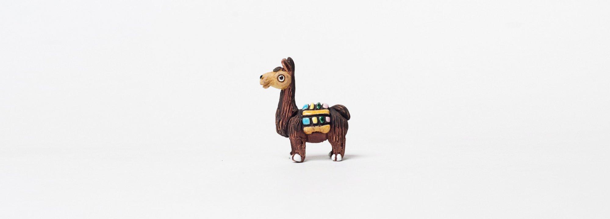 Vintage Object : Peruvian Llama