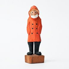 Vintage Object : Wooden Sailor
