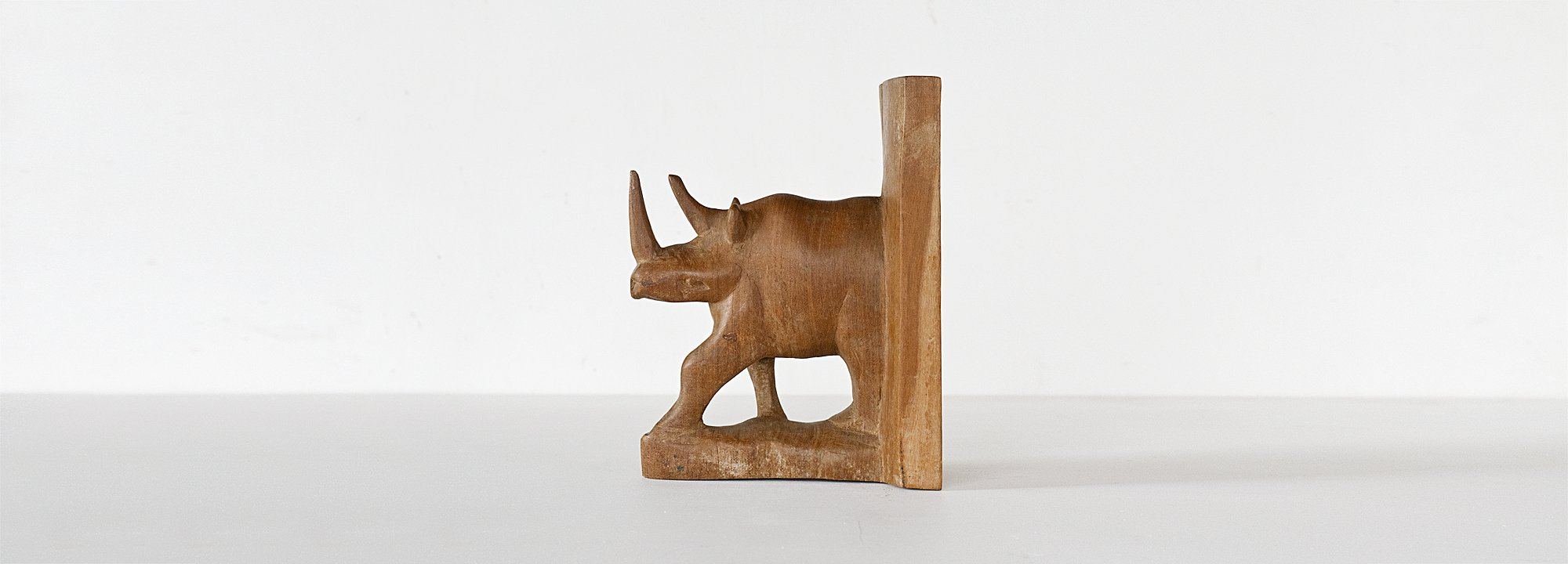 Vintage Object : Rhyno Bookend