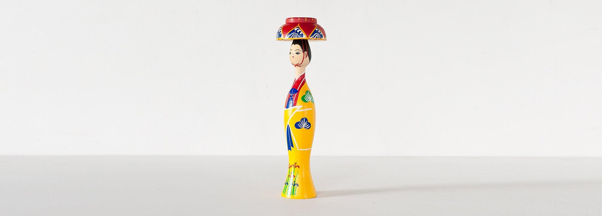 Vintage Object : Ryukyu Kokeshi