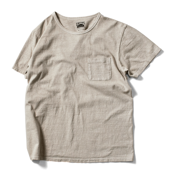 OG Cotton Botanic Pocket Tee - Camphor Gray