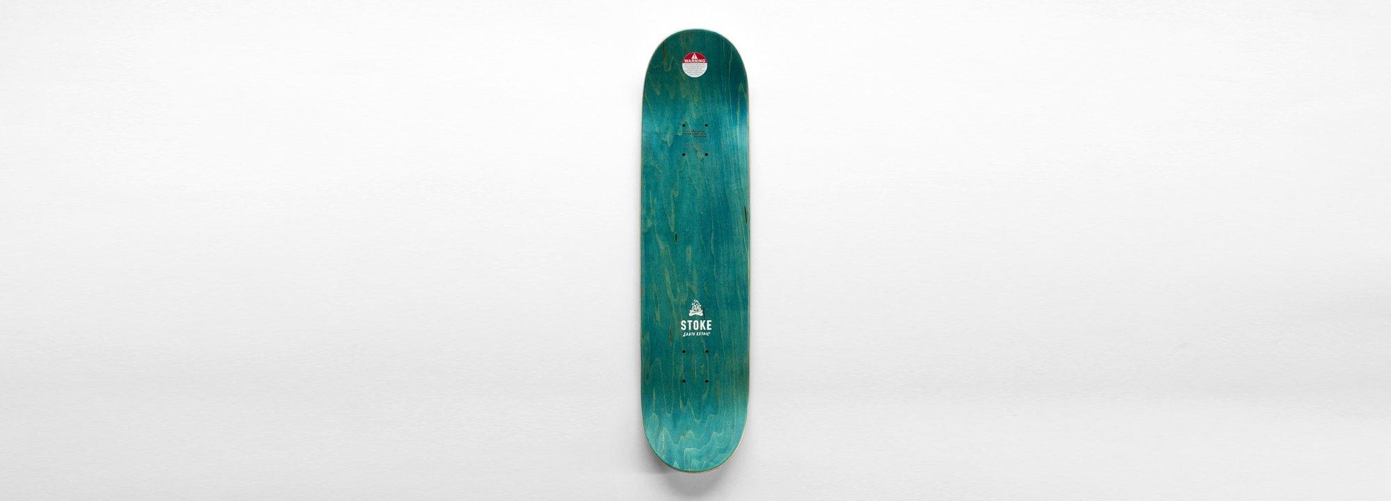 "Original Skate Deck by Stoke ""Frog Jonny"""