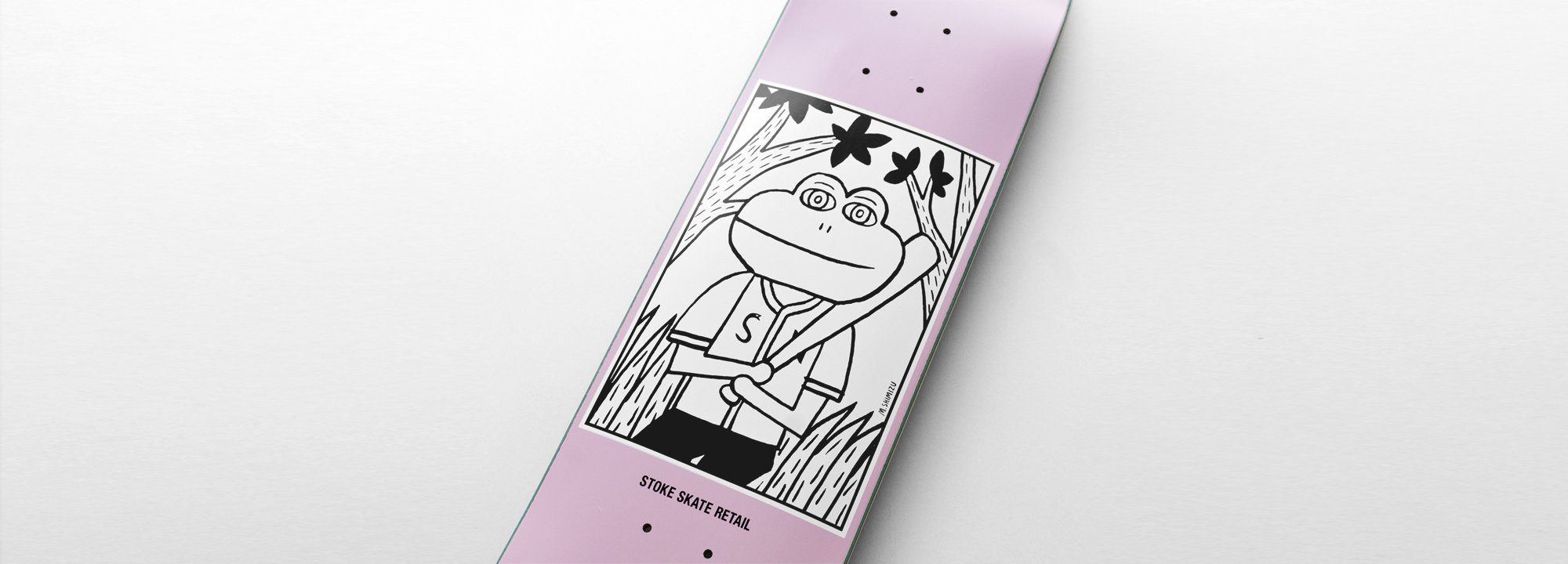 Original Skate Deck by Stoke &quot;Frog Jonny&quot;<img class='new_mark_img2' src='//img.shop-pro.jp/img/new/icons5.gif' style='border:none;display:inline;margin:0px;padding:0px;width:auto;' />
