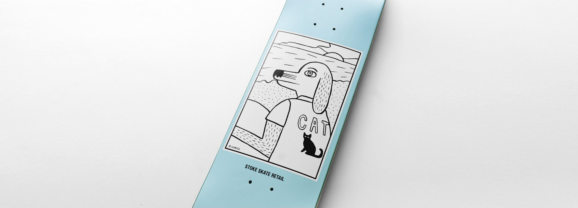 "Original Skate Deck by Stoke ""Dog Snoop"""