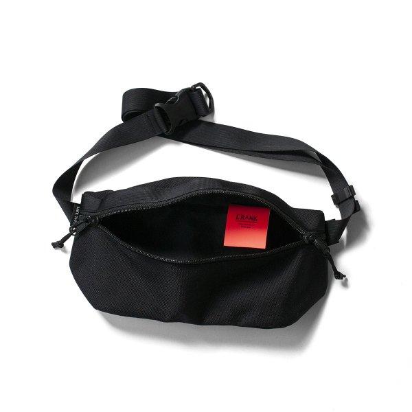 Crank Tokyo Hip Bag - Black