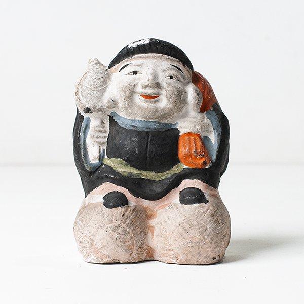 Vintage Object : 土人形 大黒天