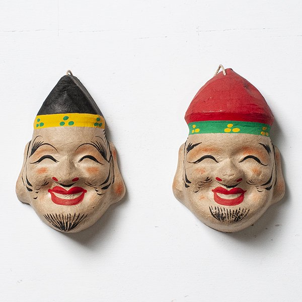 Vintage Object : 張子 恵比寿 大黒天